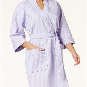 Other - Charter Club XXXL spa waffle lilac robe nwot